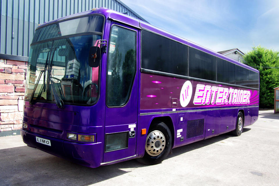 59 Seater VIP Entertainer - Ireland's Biggest Party Bus